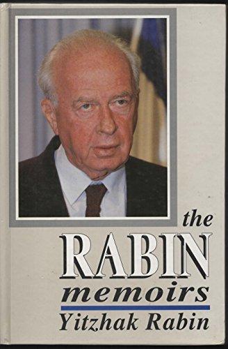 The Rabin Memoirs von Yitzhak Rabin