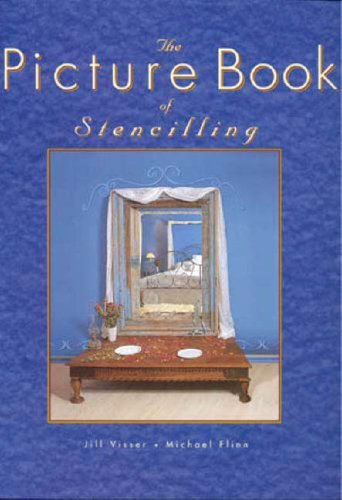 The Picture Book Of Stencilling By Jill Visser