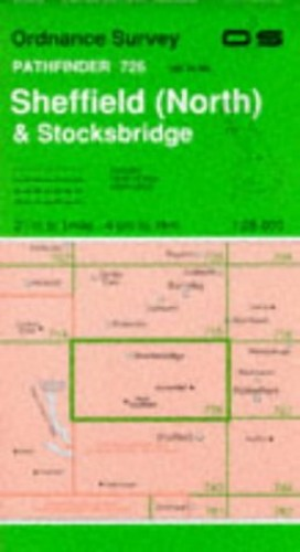 Sheffield (North) and Stocksbridge By Ordnance Survey