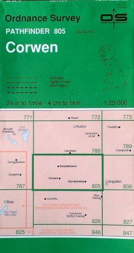 Corwen By Ordnance Survey