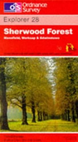 Sherwood Forest By Ordnance Survey