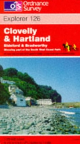 Clovelly and Hartland By Ordnance Survey