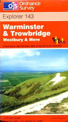 Warminster and Trowbridge By Ordnance Survey