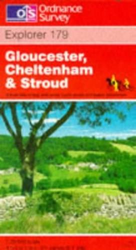 Gloucester, Cheltenham and Stroud By Ordnance Survey
