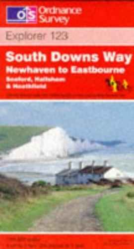 South Downs Way - Newhaven to Eastbourne By Ordnance Survey