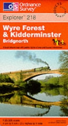 Kidderminster and Wyre Forest By Ordnance Survey