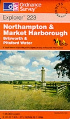 Northampton and Market Harborough By Ordnance Survey