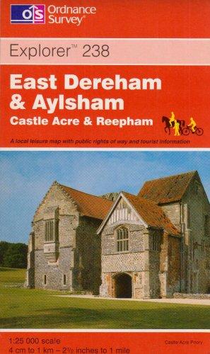 East Dereham and Aylsham By Ordnance Survey