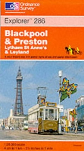 Blackpool and Preston By Ordnance Survey