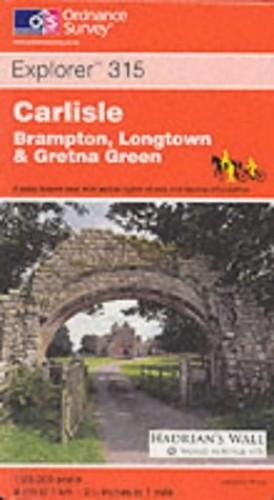 Carlisle, Brampton, Longtown and Gretna Green By Ordnance Survey