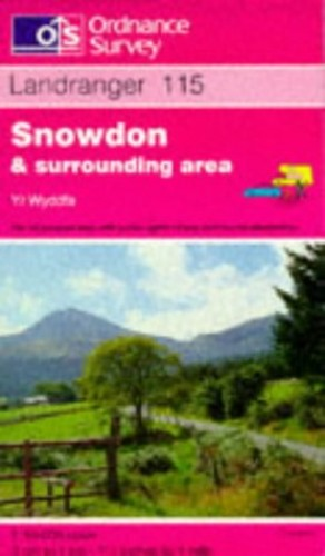 Snowdon and Surrounding Area By Ordnance Survey