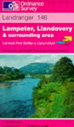Lampeter, Llandovery and Surrounding Area By Ordnance Survey