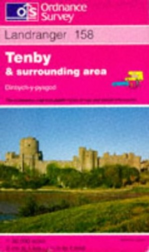 Tenby and Surrounding Area By Ordnance Survey