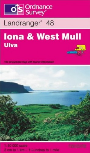 Iona and West Mull, Ulva By Ordnance Survey