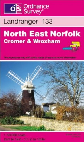 North East Norfolk, Cromer and Wroxham By Ordnance Survey