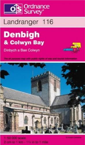 Denbigh and Colwyn Bay By Ordnance Survey