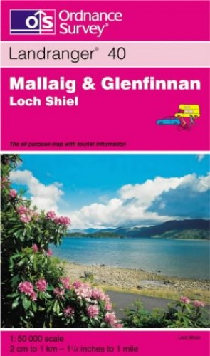 Mallaig and Glenfinnan, Loch Shiel by Ordnance Survey