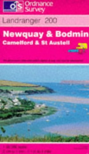 Newquay and Bodmin, Camelford and St.Austell By Ordnance Survey