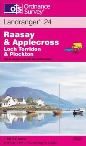 Raasay and Applecross, Loch Torridon and Plockton By Ordnance Survey
