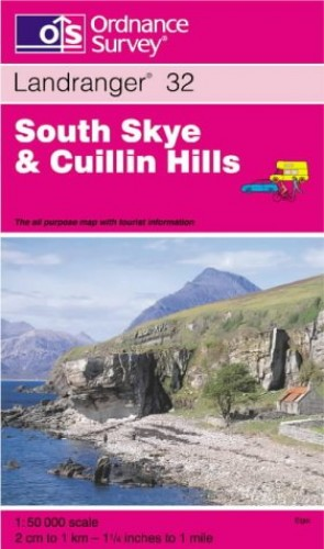 South Skye and Cuillin Hills By Ordnance Survey