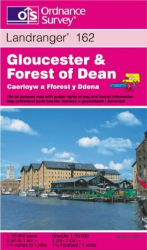 Gloucester and The Forest of Dean Area By Ordnance Survey
