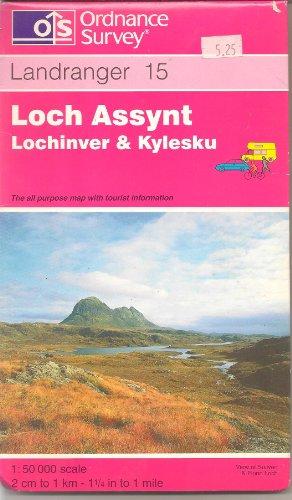 Loch Assynt, Lochinver and Kylesku By Ordnance Survey