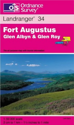 Fort Augustus, Glen Albyn and Glen Roy By Ordnance Survey