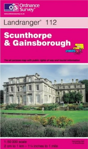 Scunthorpe and Gainsborough By Ordnance Survey