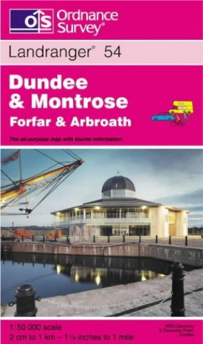 Dundee and Montrose, Forfar and Arbroath By Ordnance Survey