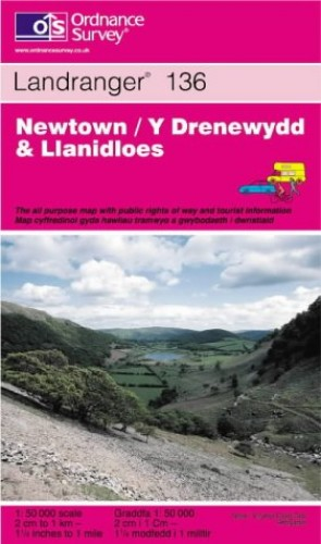 Newtown and Llanidloes By Ordnance Survey