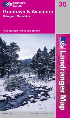 Grantown, Aviemore and Cairngorm Mountains By Ordnance Survey