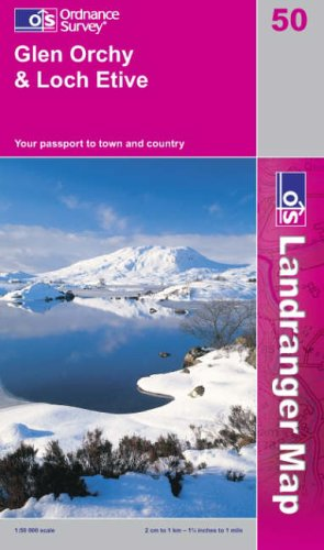 Glen Orchy and Loch Etive By Ordnance Survey