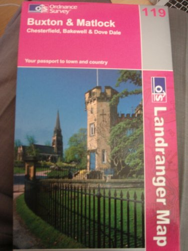 Buxton and Matlock By Ordnance Survey