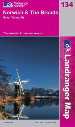 Norwich and the Broads, Great Yarmouth By Ordnance Survey