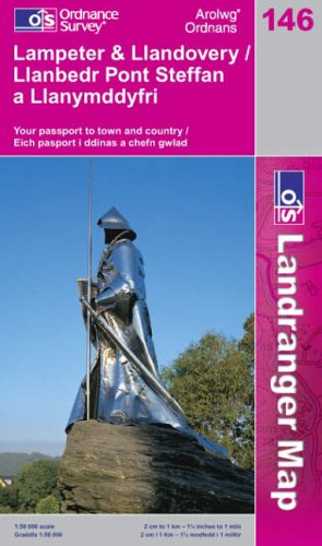 Lampeter and Llandovery By Ordnance Survey