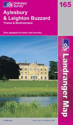 Aylesbury and Leighton Buzzard, Thame and Berkhamstead By Ordnance Survey