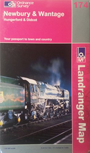 Newbury and Wantage, Hungerford and Didcot by Ordnance Survey