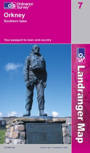 Orkney - Southern Isles By Ordnance Survey