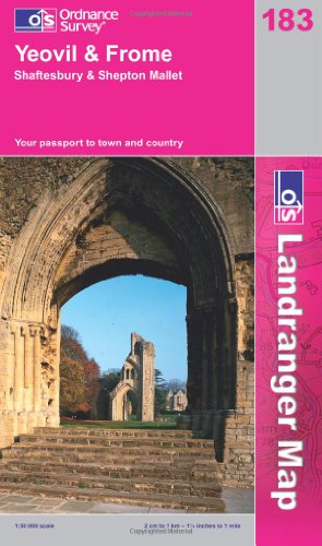 Yeovil and Frome (OS Landranger Map Series) by Ordnance Survey