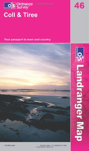 Coll & Tiree By Ordnance Survey