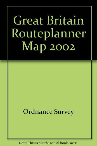 Great Britain Routeplanner Map By Ordnance Survey