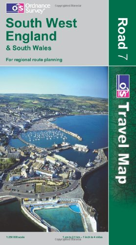 South West England and South Wales By Ordnance Survey