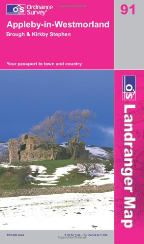 Appleby-in-Westmorland By Ordnance Survey