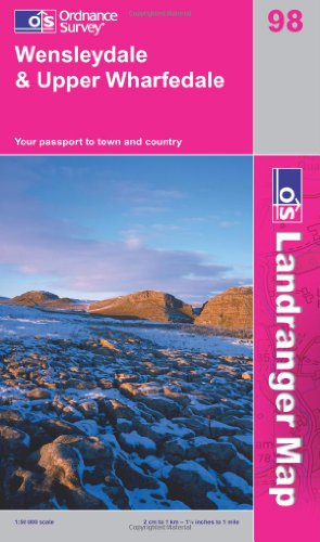 Wensleydale and Upper Wharfedale By Ordnance Survey