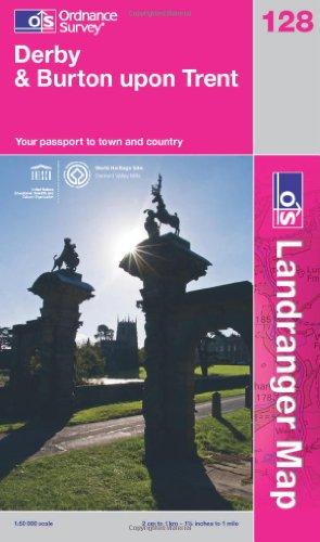 Derby & Burton Upon Trent By Ordnance Survey