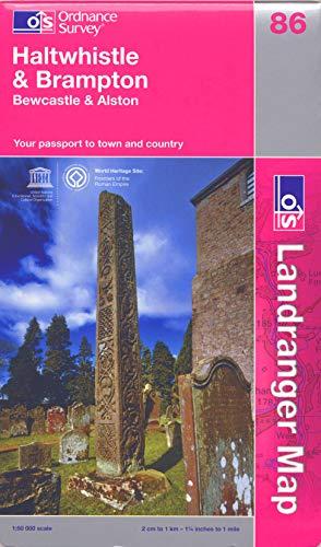 Haltwhistle and Brampton, Bewcastle and Alston By Ordnance Survey