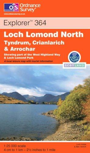 Loch Lomond North By Ordnance Survey