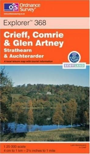 Crieff, Comrie and Glen Artney By Ordnance Survey