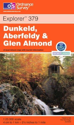 Dunkeld, Aberfeldy and Glen Almond By Ordnance Survey