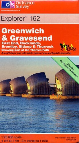 Greenwich and Gravesend By Ordnance Survey